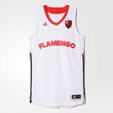 Camiseta Regata Flamengo Basquete Branca 2016