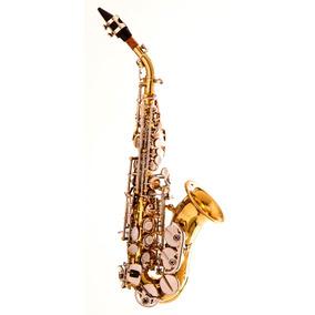 Saxofone Soprano Curvo Sopranino Hoyden Laqueado Hsc-25.ln