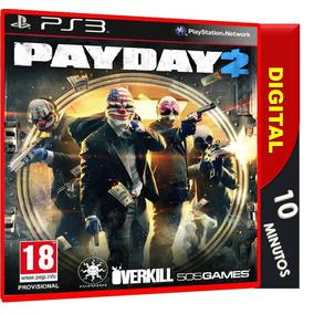Payday 2 Ps3 Psn Digital Envio Imediato