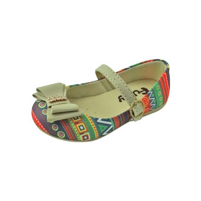 Sapato Boneca Baby Com Laço- Colorida