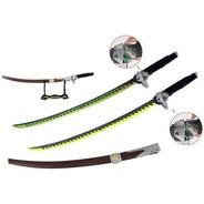 Espada Katana Genji 120cm - Dragon Sword - Overwatch Com Led