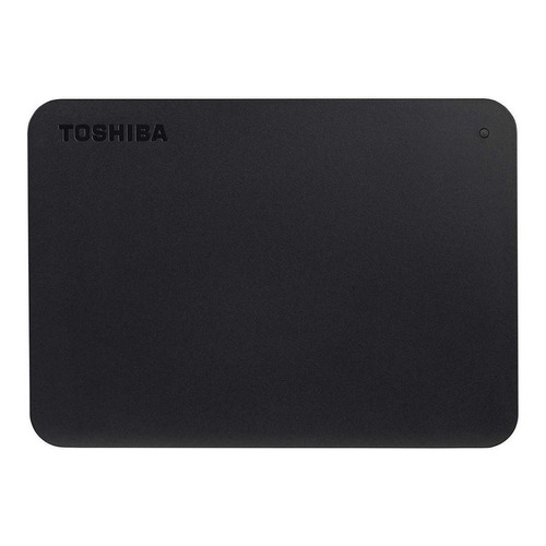 Disco rígido externo Toshiba Canvio Basics HDTB420XK3AA 2TB preto