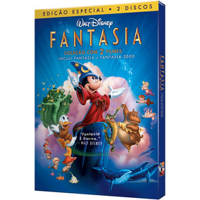 Dvd Fantasia + Fantasia 2000 (2 Dvds)