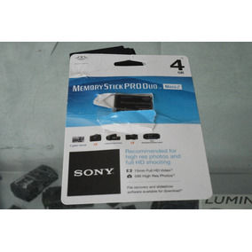 Memory Stick Pro Duo Mark2 Sony 4gb