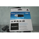 Memory Stick Pro Duo Mark2 Sony 4gb