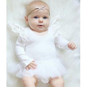 Roupa Bebê Body Renda Tutu Bailarina Menina Top Importado