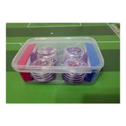 10 Caixinhas Plásticas Para Futebol De Botão - 15cmx10cmx4cm