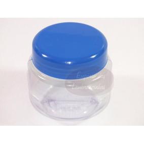 100 Potes De Papinha De Plástico 120 Gramas P/ Lembrancinhas