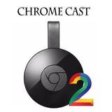 Google Chromecast 2 Hdmi 1080p - Pague Em Cartao Ou Boleto!