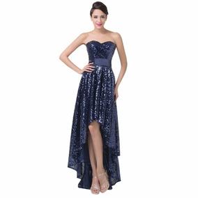 Vestido De Debutante Azul 34 36 38 40 42 44 46 48 - Vg00353