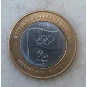 Moeda Da Bandeira Olimpíadas Rio 2016