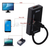 Cable Micro Usb A Hdmi Adaptador Tv Htc Sony Lg Samsung