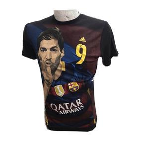 402c9a65ba907 Playera Deportiva Suárez Qatar Fcb Talla M Barcelona