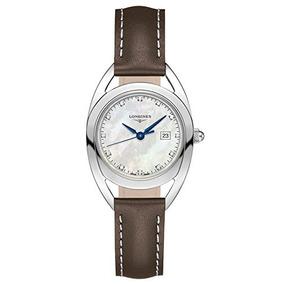 Reloj Longines Ecuestre Mujer Diamantes Mop Dial Cuadr W67