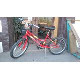 Bicicleta Mtb Brabus Roja