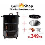 Cilindro Parrillero Grande + Accesorios En Oferta