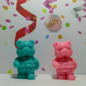 20 Lembrancinhas Aniversário Infantil Menina Sabonete Urso