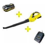 Soplador 2 Velocidades Ion Litio + Bateria + Cargador Barovo