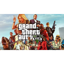 Gta V Grand Theft Auto 5 Pc Steam História + Online Completo
