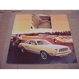 Folder Ford Mustang 76 1976 Gt Hardtop Svo Fastback V8 Cobra
