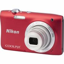Camara Nikon Coolpix S2900 20mp Filma Hd 5x Zoom Rosario