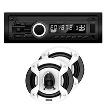 Stereo X-view Ca3020 + Mp3 Usb + Parlantes Speaker Gtz650