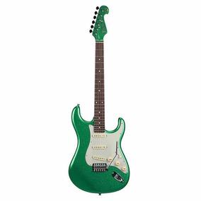 Guitarra Tagima Strato T-635 Limited Verde Metálico