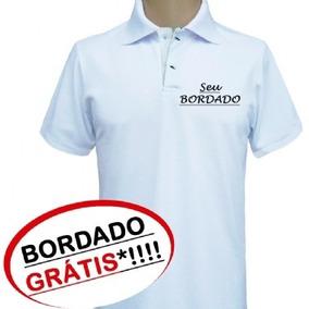 Camisa Polo Uniformes Bordado Personalizado Com Logo Grátis