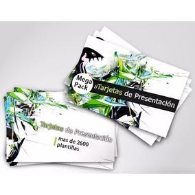 Paquete Plantillas Psd +2600 Tarjetas De Presentación Diseño