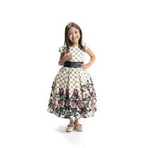 Vestido Infantil Festa Floral #1414