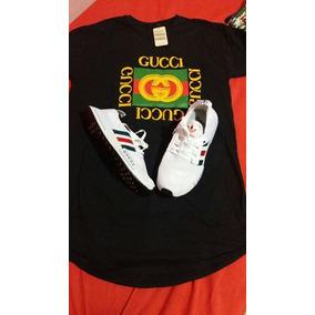 Kit Camisa Gucci + Tenis Gucci
