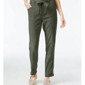 Pantalon Casual Verde Para Dama 100% Original Inc