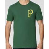 Camiseta Palmeiras Palestra Itálita Símbolo Dourado