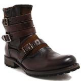 Bota Masculina Coturno Zariff Shoes Fivelas Rocker