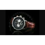 Reloj Hombre Rotary Aviator Chronospeed Original Imp. Cerrad