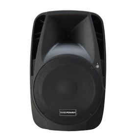 Caixa De Som Amplificada 450w Rms - Bluetooth 2 Microfones