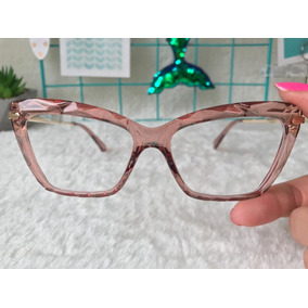 Oculos De Grau Firenze - Óculos Bege no Mercado Livre Brasil 72f1128c34