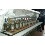 Bordadora Industrial De 12 Cabezales 5 Colores Barudan