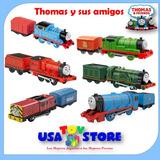 Tren Thomas Trackmaster 2pk Percy James Emily Salty Gordon