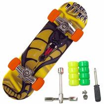2 Skate De Dedo Fingerboard Brinquedo Relâmpago Mcqueen Moto