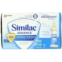 Similac Advance Recién Nacido Ready To Feed Botellas Botella
