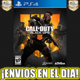 Call Of Duty Black Ops 4 Iv Ps4 Cod Bo 4 Juego Digital 1°