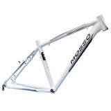 Quadro Bicicleta Aro 29 Mosso Odissey Branco E Preto Tam 19