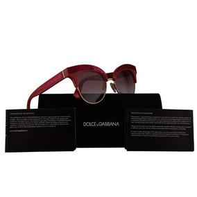 Óculos Feminino Gucci Dolce Gabbana Dg2075 Sunglasses 034  Armacoes ... 9c1b5a588d