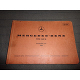 Mercedes Benz 250 Sl 1967 Catalogo A Despiece