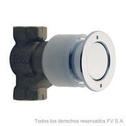 Griferia Fv Para Inodoro Pressmatic Cromo 0344