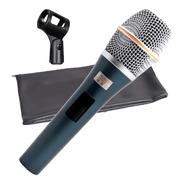 Microfone Com Fio Tipo Sennheiser Voz Kadosh K98 Pro