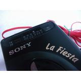 Walkman Com Radio Fm/am, Sony La Fiesta