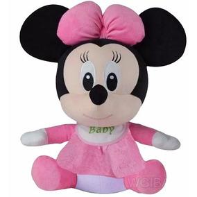 Pelucia Minnie Baby Antialergico Decoração Linda Promoção