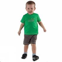 Conjunto Puma Para Bebé Basic Boys Set Playera Y Short